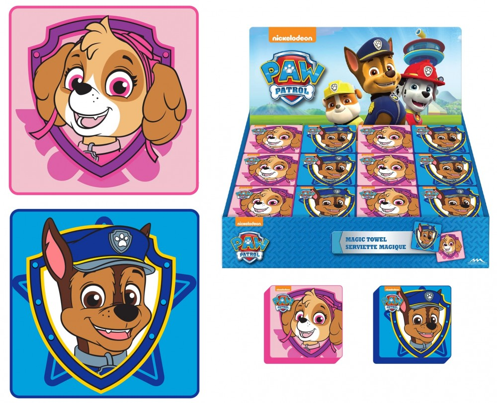 Paw Patrol Magic Towels in Display 2 Asstd