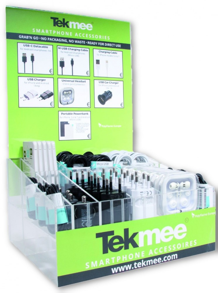 Tekmee Small Display + 120 Stuks
