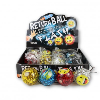 Led Returnball Glitter